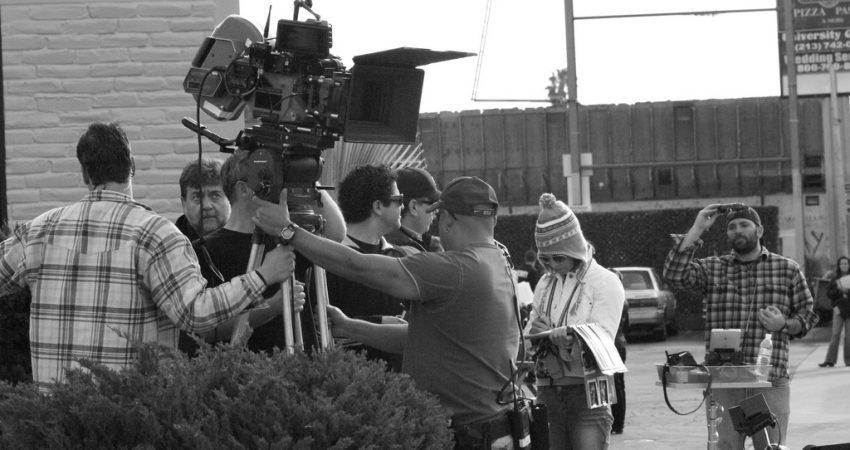 Filmowcy na planie, źródło: Vincent Diamante/flickr.com/photos/sklathill/, CC BY-SA 2.0