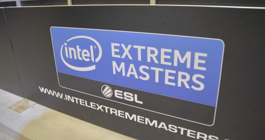 Logo Intel Extreme Masters w Katowicach w 2015 r., źródło: praca własna, archiwum, wszelkie prawa zastrzeżone