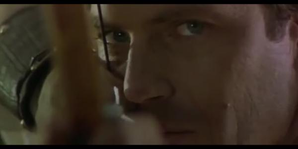 """Kadr z obrazu w reżuserii Kevina Reynoldsa """"Robin Hood: Książę złodziei"""", studio: Morgan Creek Productions"""