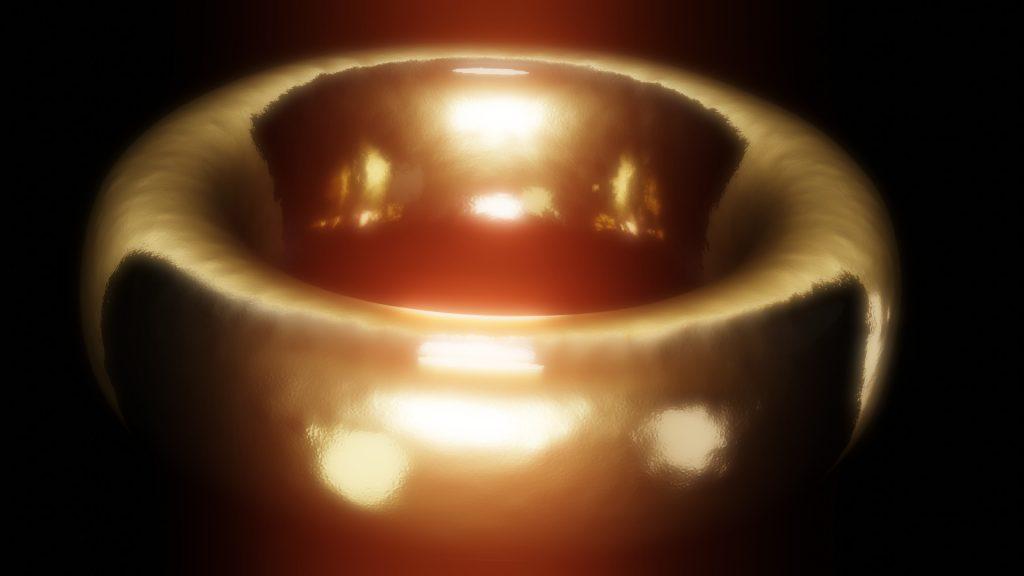Jedyny Pierścień, czyli tolkienowski mały, złoty pierścionek. (źródło: praca własna, wszelkie prawa zastrzeżone)