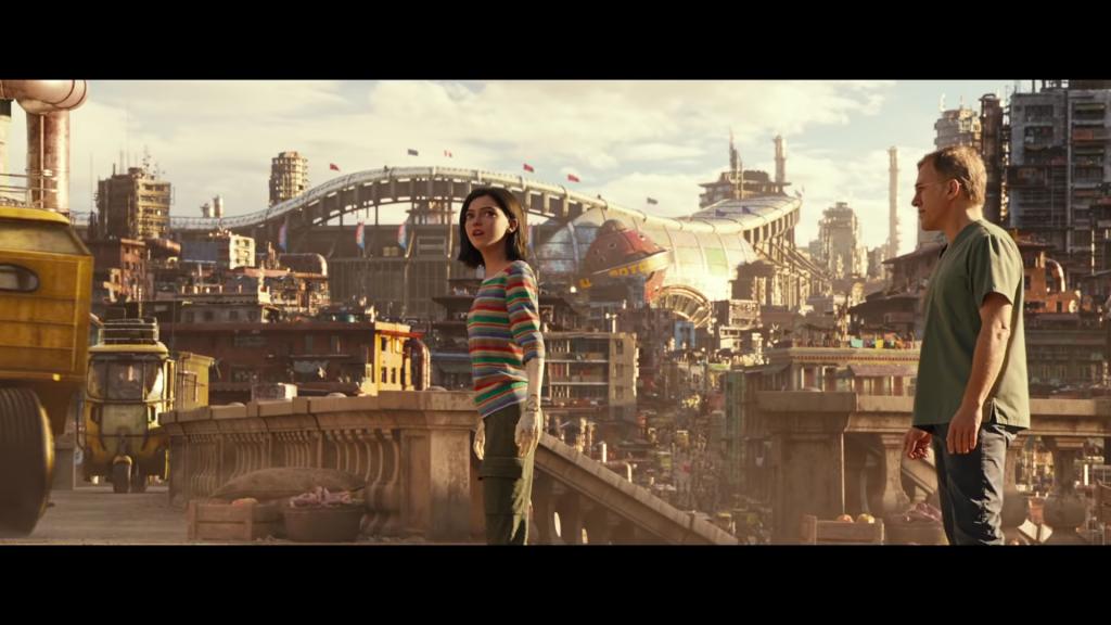 Alita Battle Angel, film o którym James Cameron marzył, źródło: youTube.com, produkcja: 20th Century Fox