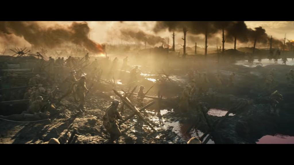 """Kadr z obrazu """"Tolkien"""" w reżyserii Domea Karukoskiego. (grafika: Fox Searchlight Pictures, Chernin Entertainment/kadr z traileru)"""