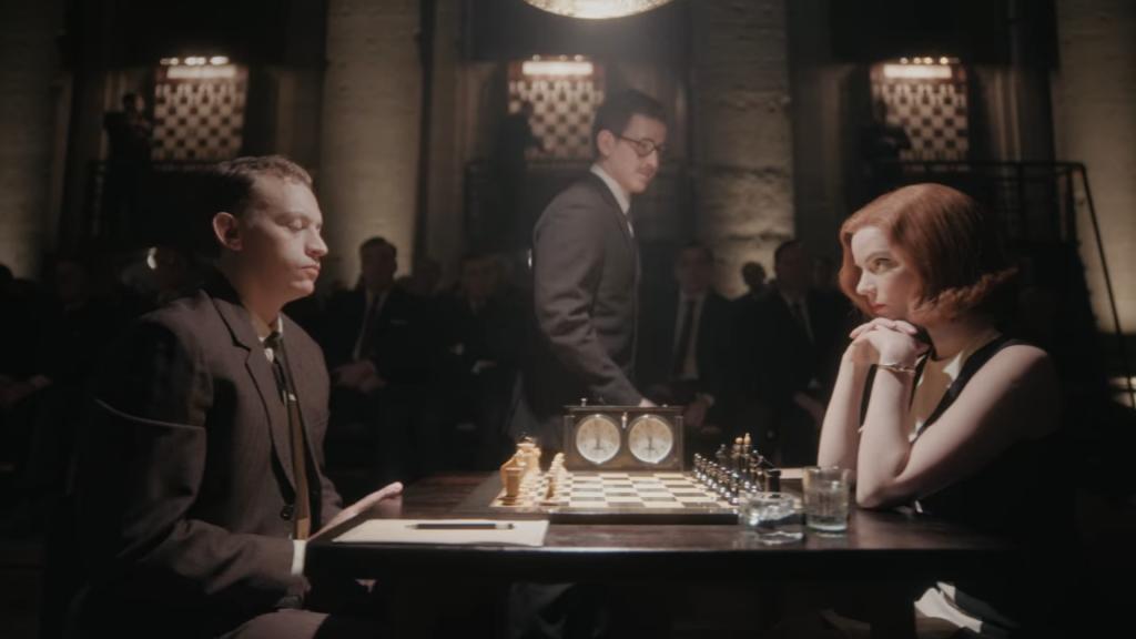 "fot. ""Gambit Królowej"", Netflix 2020"